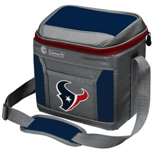 Coleman Houston Texans 9-Can 24-Hour Soft-Sided Cooler