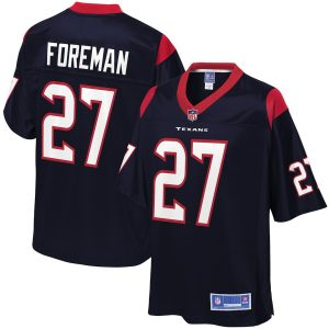 D'Onta Foreman Houston Texans NFL Pro Line Team Color Player Jersey