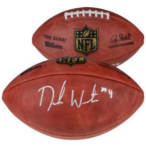 Deshaun Watson Houston Texans Fanatics Authentic Autographed Pro Football
