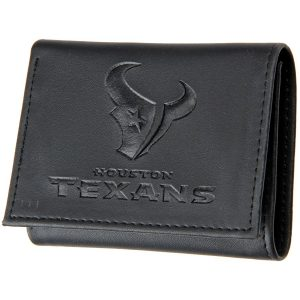 Houston Texans Black Hybrid Tri-Fold Wallet