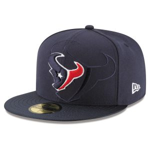 Houston Texans New Era Custom On-Field 59FIFTY Structured Fitted Hat