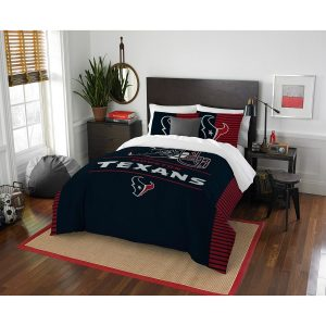 Houston Texans The Northwest Company NFL Draft Full/Queen Comforter Set