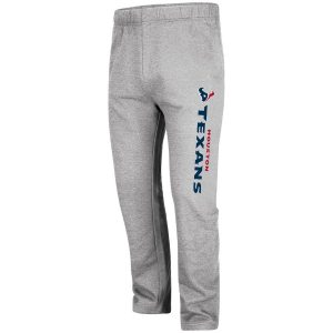 Majestic Houston Texans Heathered Gray Critical Victory Pants