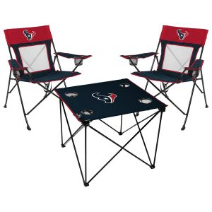 Rawlings Houston Texans Deluxe 3-Piece Tailgate Chair & Table Kit