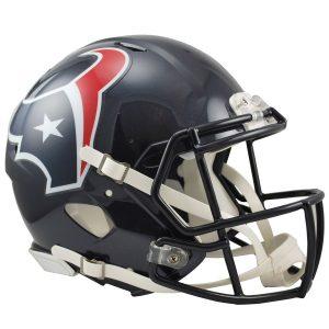 Riddell Houston Texans Revolution Speed Full-Size Authentic Football Helmet