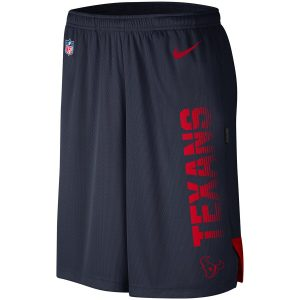 Houston Texans Nike Sideline Player Knit Performance Shorts – Navy