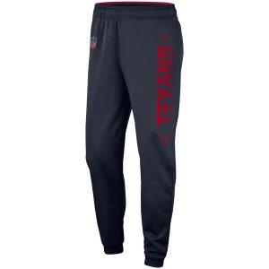 Men's Houston Texans Nike Navy Team Logo Sideline Performance Pants