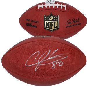 Andre Johnson Houston Texans Autographed Duke Pro Football