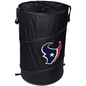 Houston Texans Cylinder Pop Up Hamper