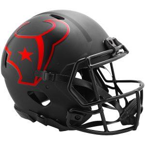 Houston Texans Riddell Eclipse Alternate Revolution Speed Authentic Football Helmet