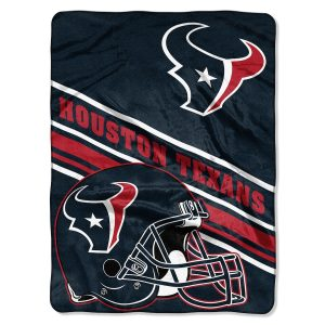 "Houston Texans The Northwest Company 60"" x 80"" Slant Rashcel Throw"