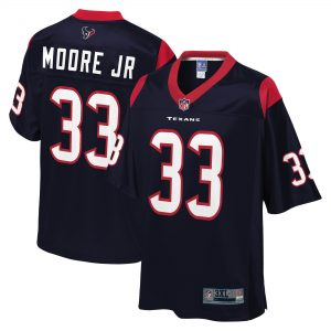 A.J. Moore Jr. Houston Texans Big & Tall Player Jersey
