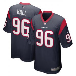 P.J. Hall Houston Texans Nike Game Jersey